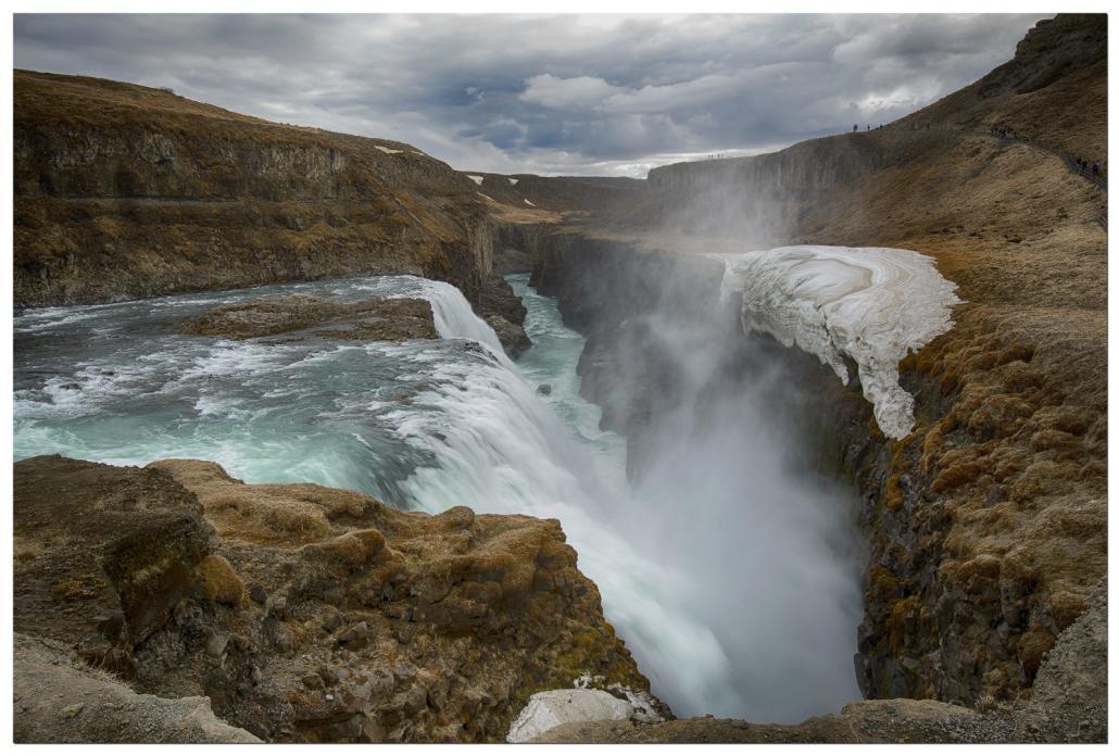 Une des cascades les plus emblématique d'Islande