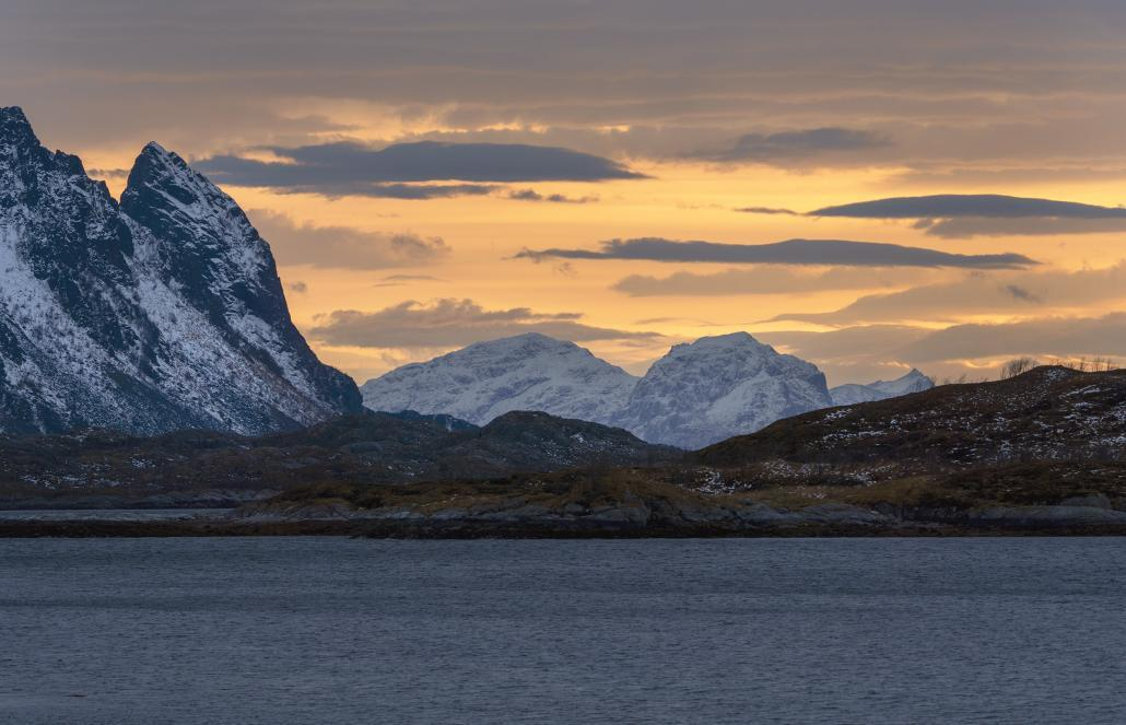 Lofoten Islands Sunrise and Sunset Time