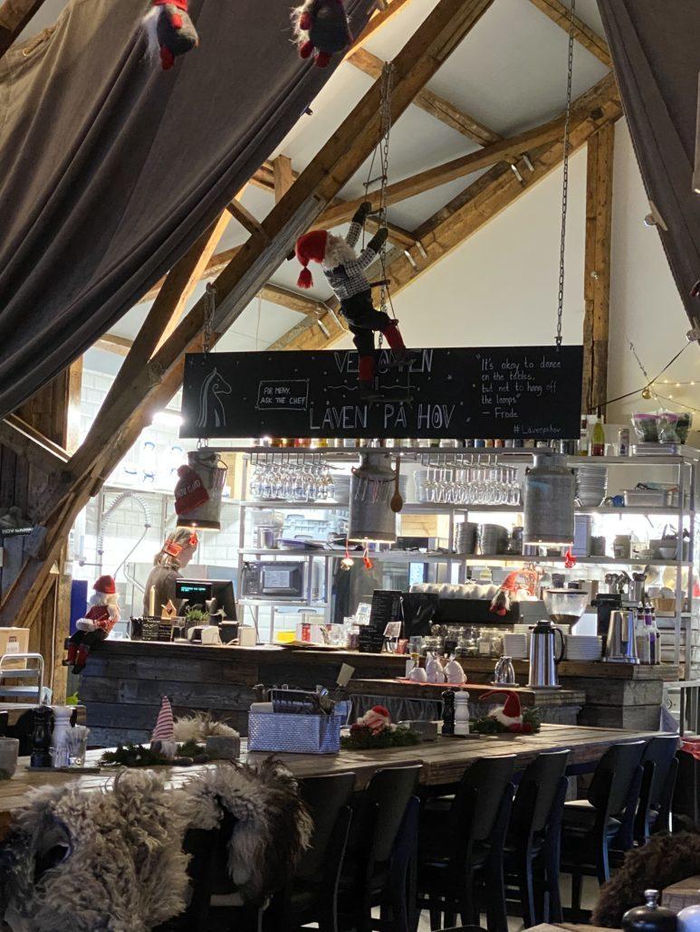 Le restaurant Låven, vous promet une délicieuse cuisine locale.
